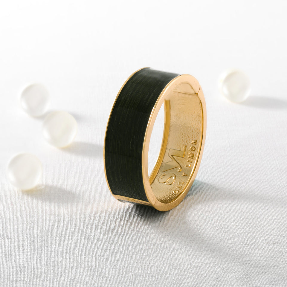 SYL Bangles  Plain Gold