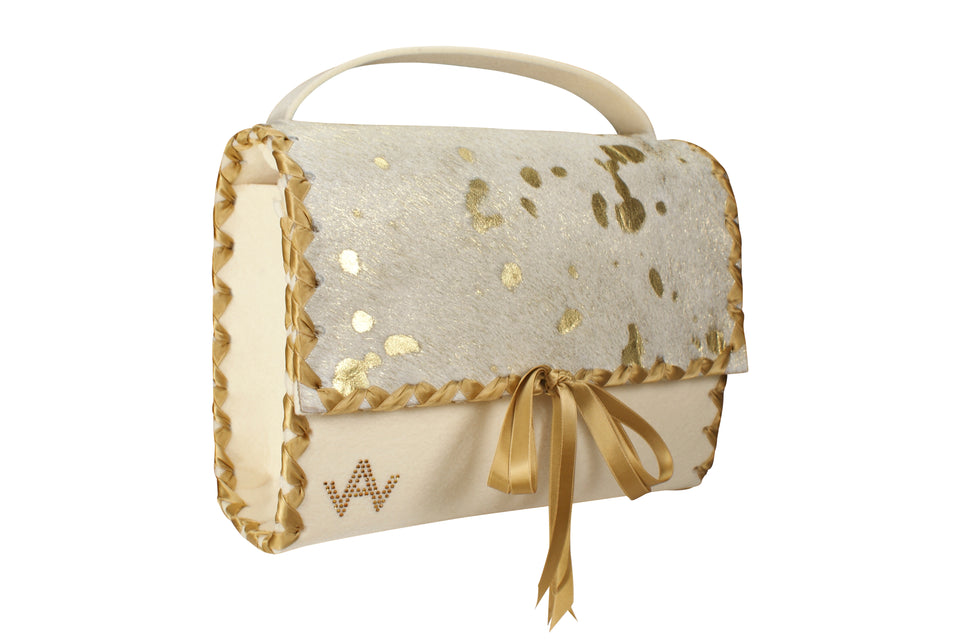 AW Eye Candy Gold bag