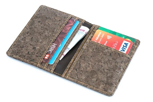 Dark Cork Wallet
