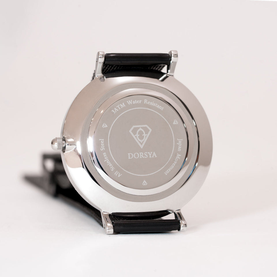 Cronus | stainless steel silver watch case | Dorsya