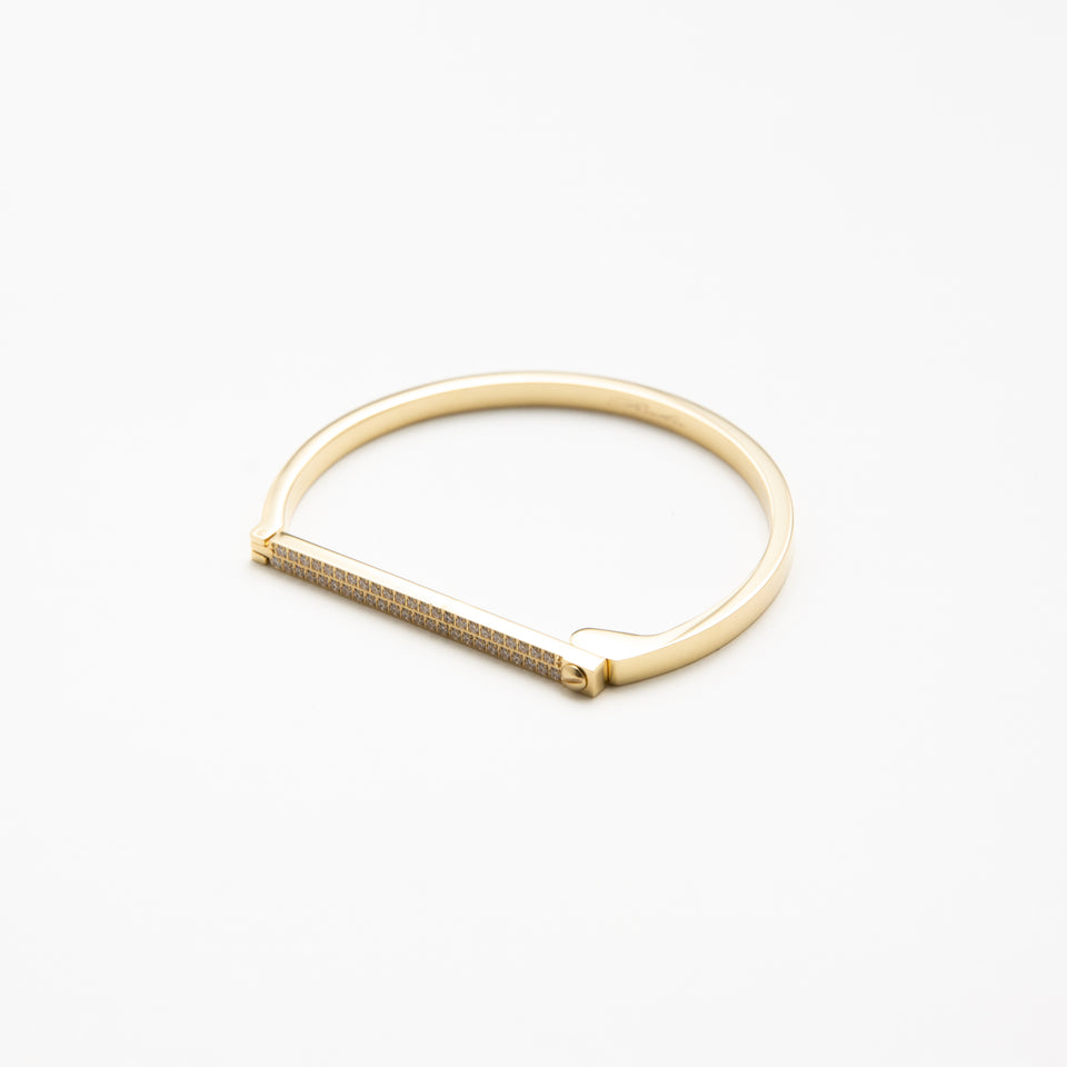 SUS Bangle Swarovski