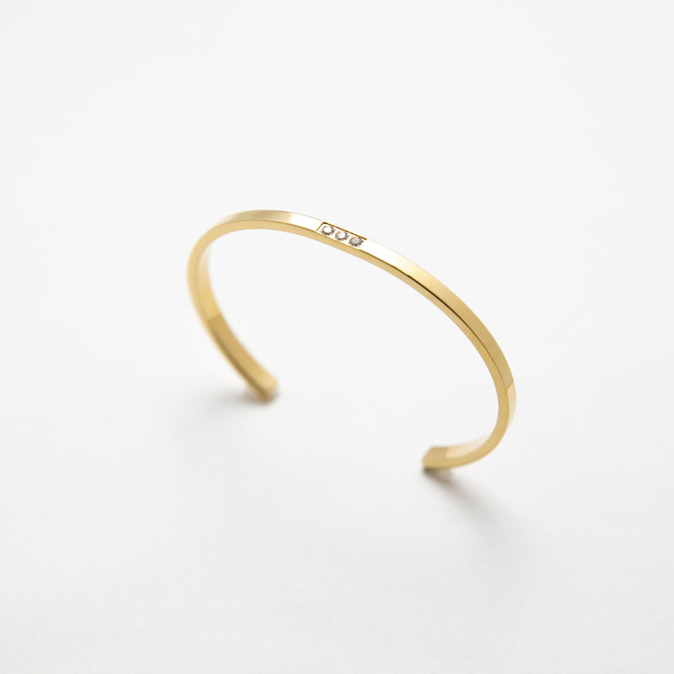 Swarovski Dot Bangle