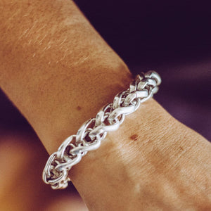 Elora Braided Link Bracelet - SteelJoy!