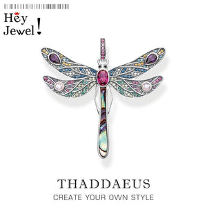 Pendant Dragonfly 925 Sterling Silver - SteelJoy!