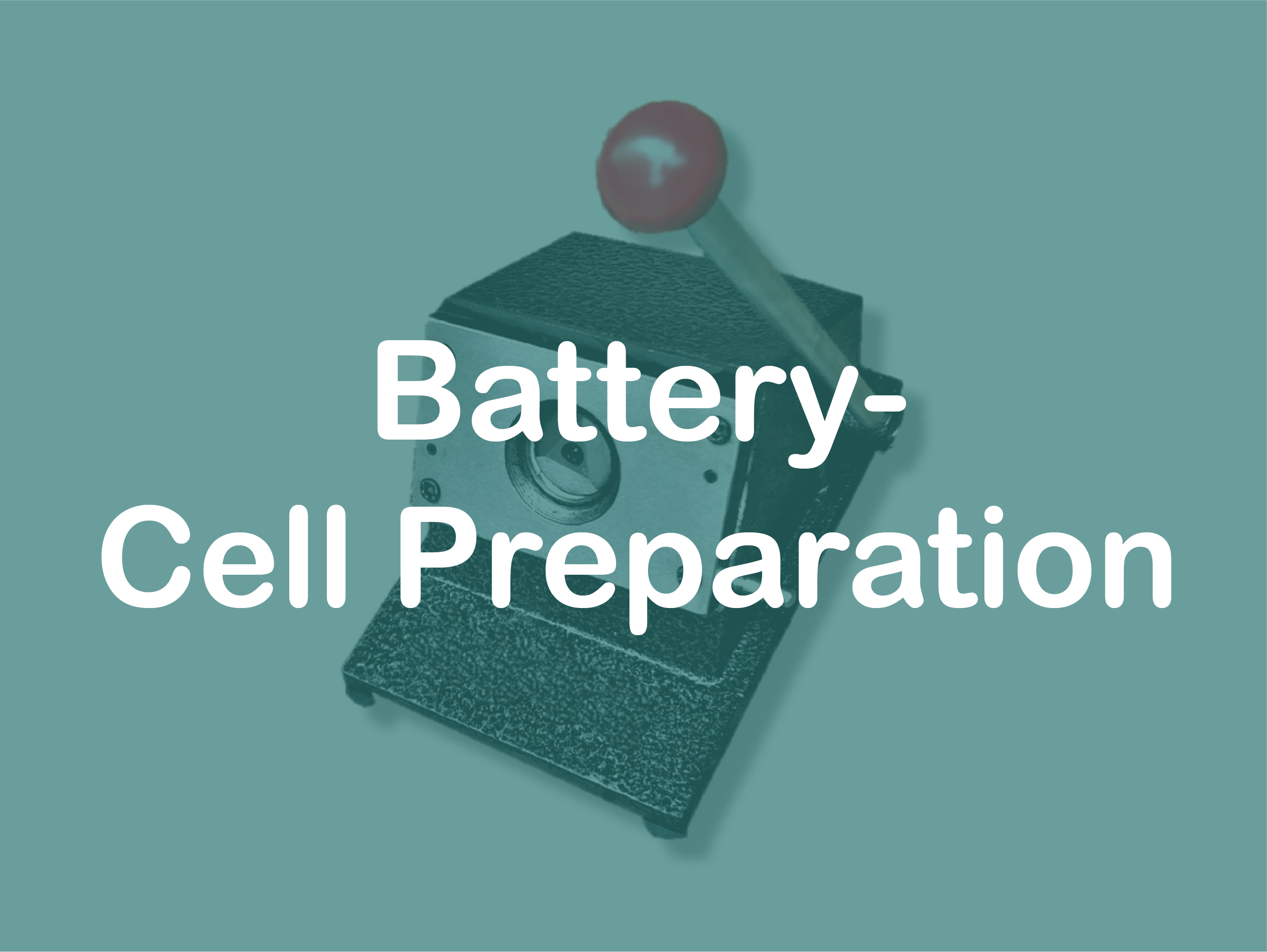battery cell preparation
