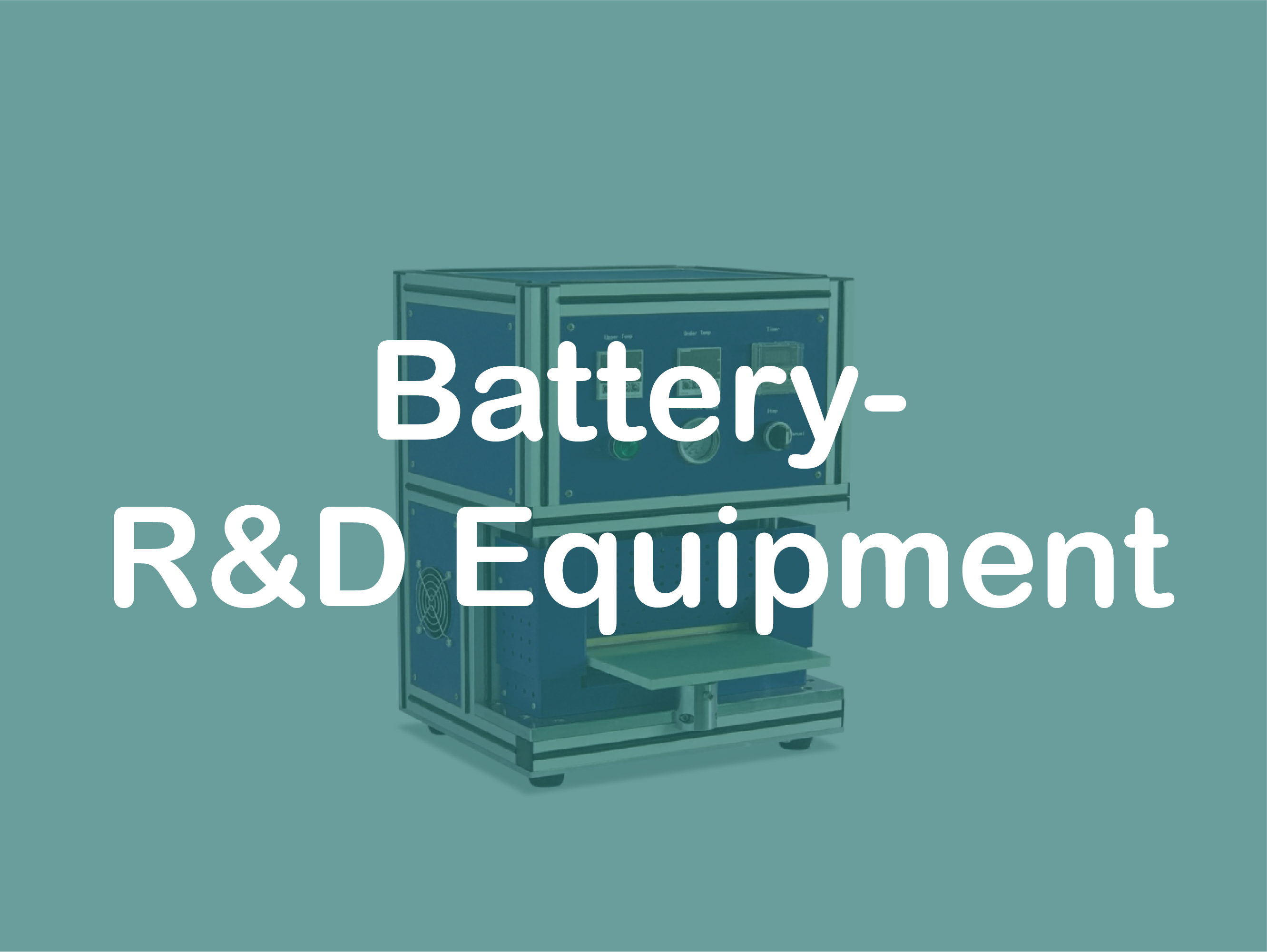 battery R&D equipment for research