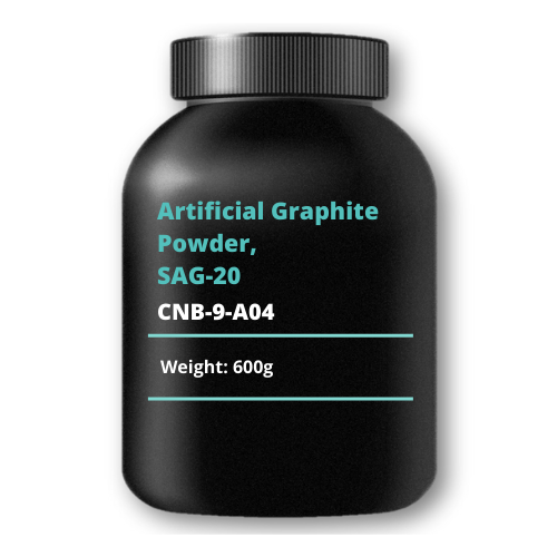 Artificial Graphite Powder, SAG-20, 600g