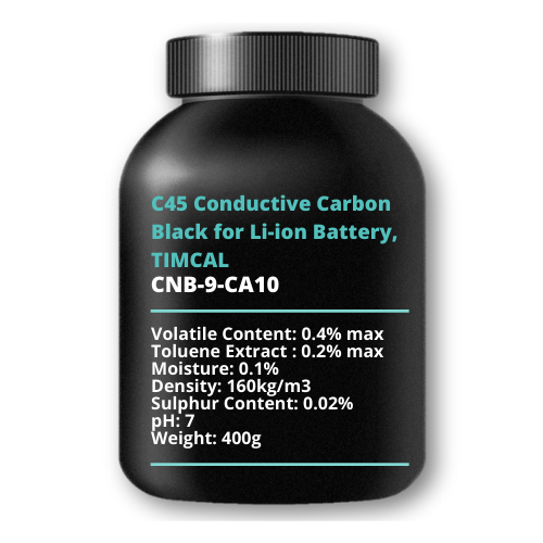 C45 Conductive Carbon Black for Li-ion Battery, TIMCAL, 400g