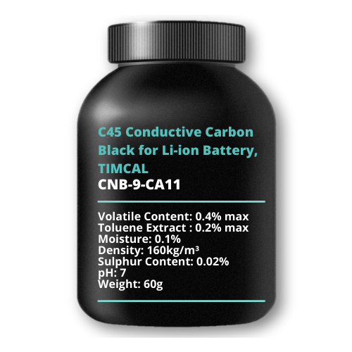 C45 Conductive Carbon Black for Li-ion Battery, TIMCAL, 60g