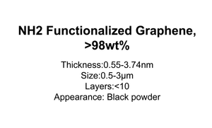 NH2 Functionalized Graphene, >98wt%