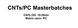 CNTs/PC Masterbatches