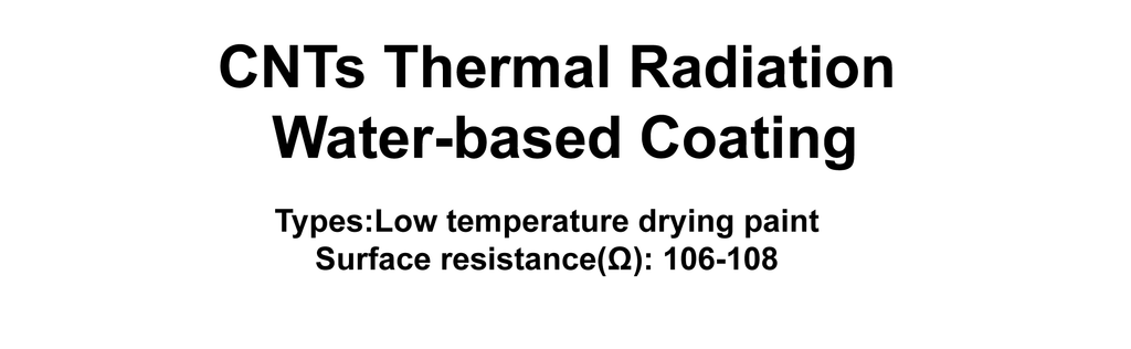 CNTs Thermal Radiation Water-based Coating
