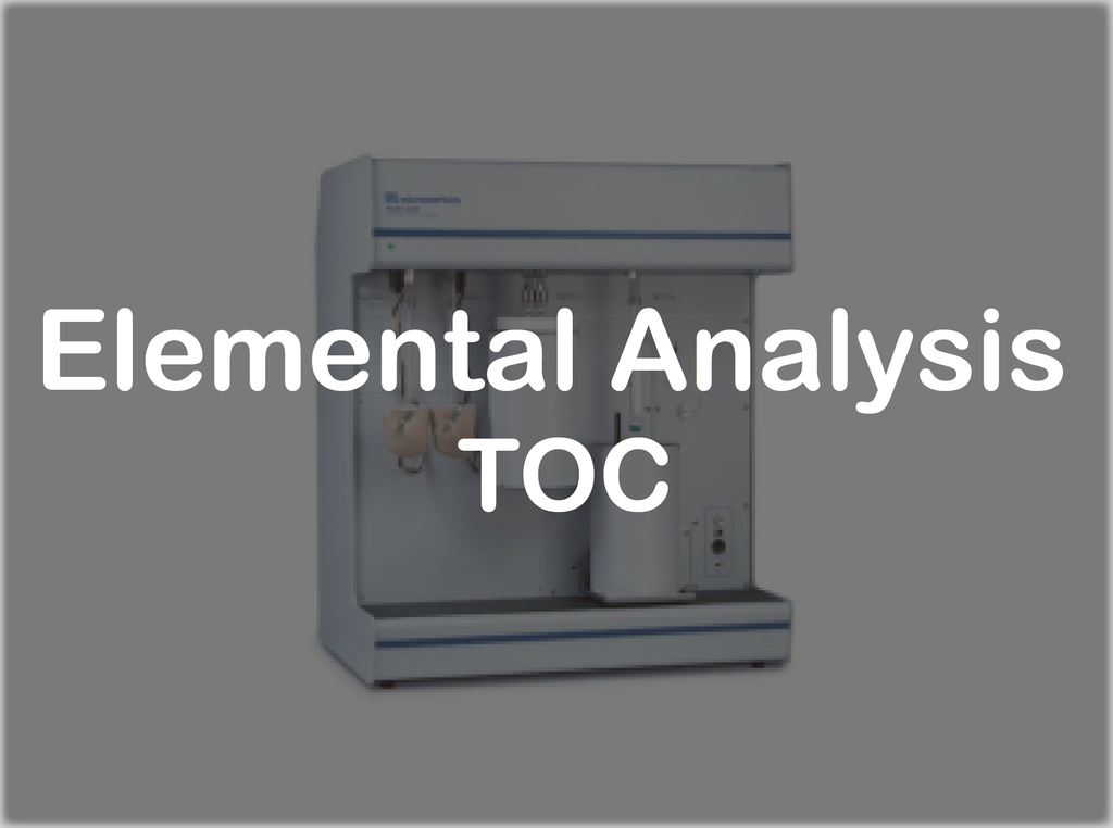 Elemental Analysis - TOC