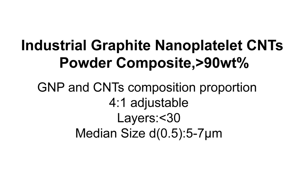 Industrial Graphite Nanoplatelet CNTs Powder Composite