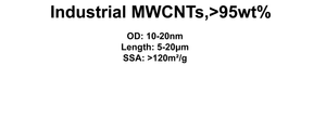 Industrial MWCNTs (TNNF-6)