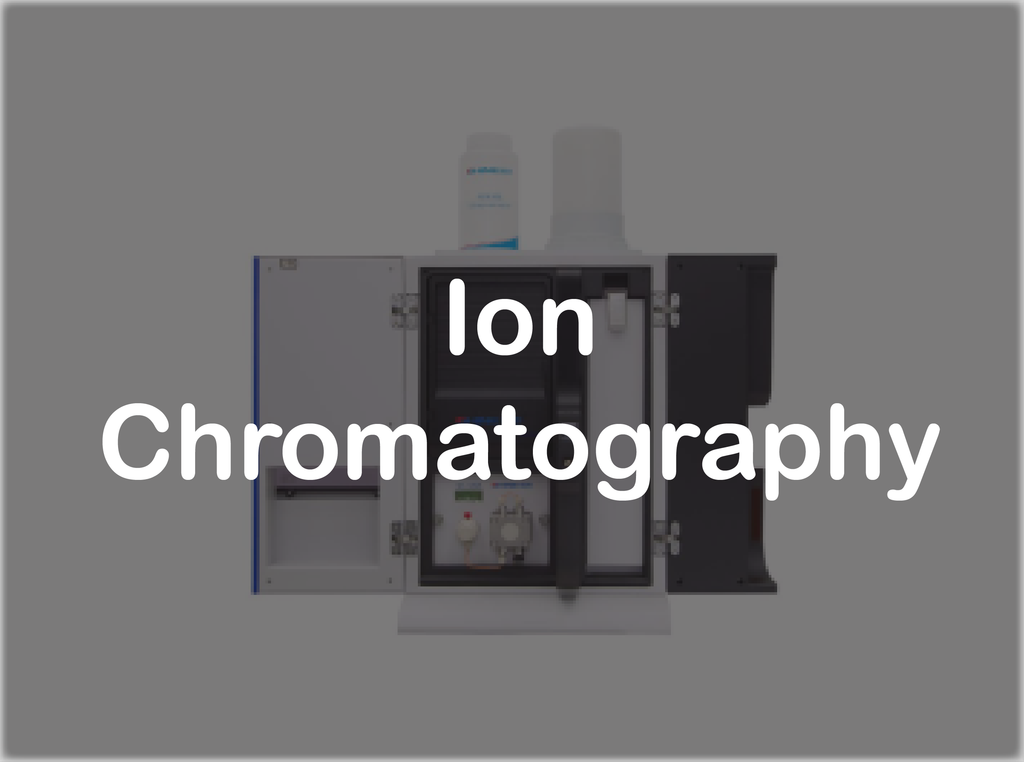 Chromatography - IC