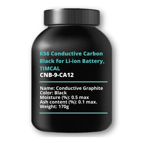 KS6 Conductive Carbon Black for Li-ion Battery, TIMCAL, 170g
