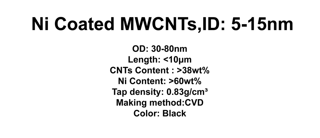 Ni Coated MWCNTs (TNNiM8)