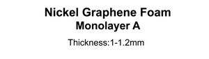 Nickel Graphene Foam  (Monolayer A)