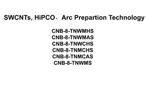 HiPCO,Arc Prepartion Single-Walled CNTs Dispertion