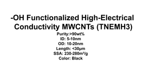 '-OH Functionalized High-Electrical Conductivity MWCNTs (TNEMH3)