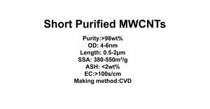 Short Purified MWCNTs (TNSM0)
