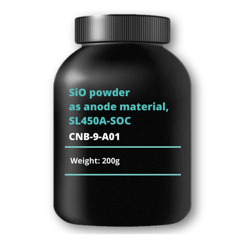 SiO powder as anode material, SL450A-SOC, 200g