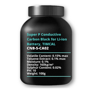 Super P Conductive Carbon Black for Li-ion Battery, TIMCAL, 100g