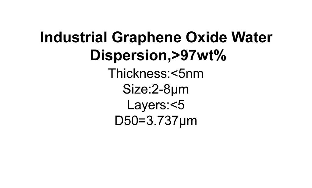 Industrial Graphene Oxide Water Dispersion
