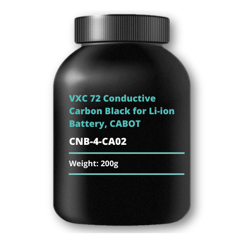 VXC 72 Conductive Carbon Black for Li-ion Battery, CABOT, 200g