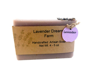 bar of lavender soap