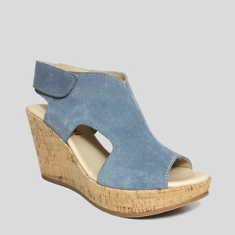 Cordani Reed in Denim Suede