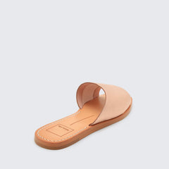 Dolce Vita Cato Rosegold Leather slide sandal