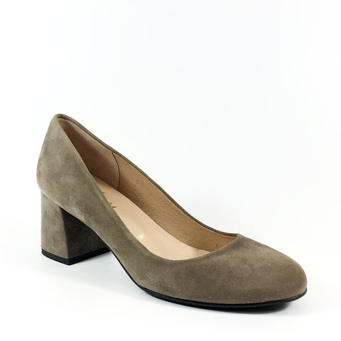 FSNY Trance in Taupe Suede