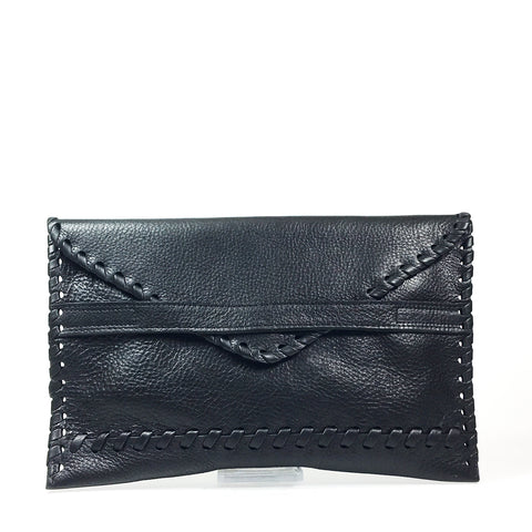 Laggo Polka | Black Leather