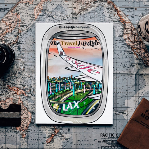 Lifestyle Travel Coloring Book