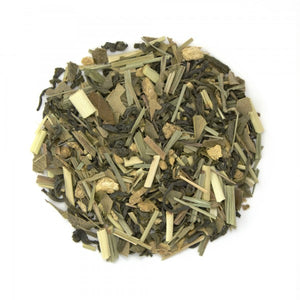 Load image into Gallery viewer, Lemon Ginger CBD Green Tea
