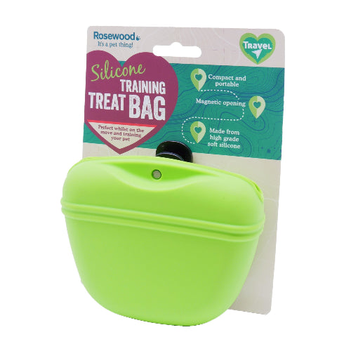 Rosewood Silicone Training Treat Bag - Pet Mall