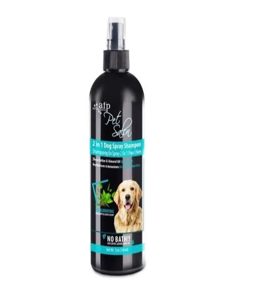 All For Paws Pet Salon 2 in 1 Spray Dog Shampoo 360 ml - Pet Mall