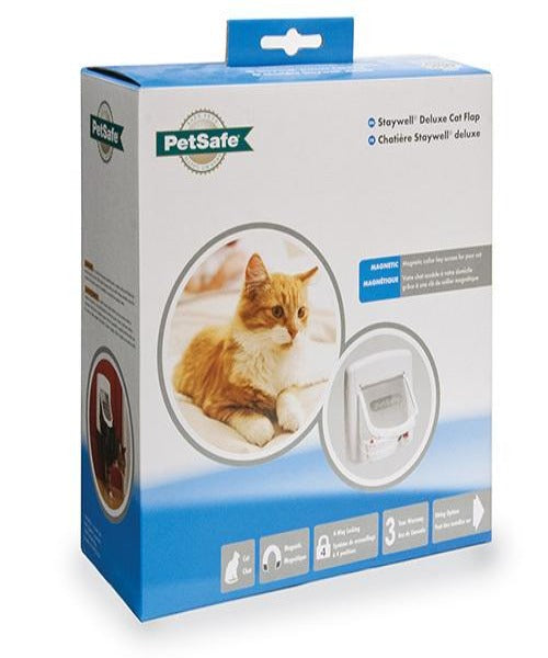 PetSafe Magnetic 4 Way Locking Deluxe Cat Flap