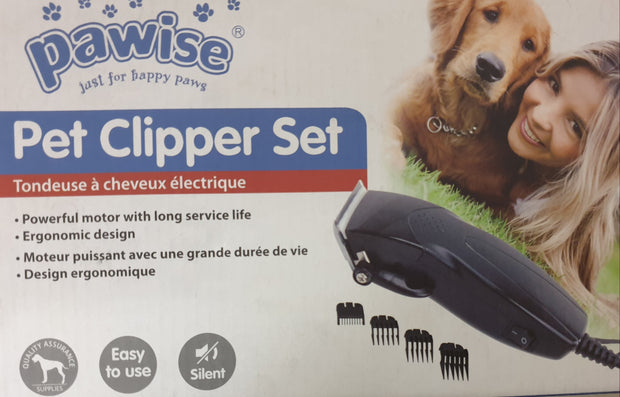 Pawise Electric Silent Pet Clipper/ Hair Trimmer