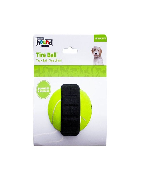 Outward Hound Tyre Ball Dog Toy - Pet Mall
