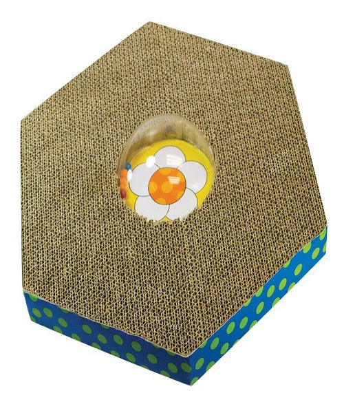 Petstages Wobble & Scratch Globe Cat Toy - Pet Mall