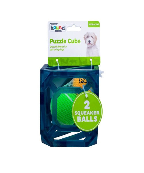 Outward Hound Puzzle Cube Dog Toy - Pet Mall