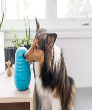 Nina Ottosson Dog Pyramid Blue Large Dog Toy - Pet Mall