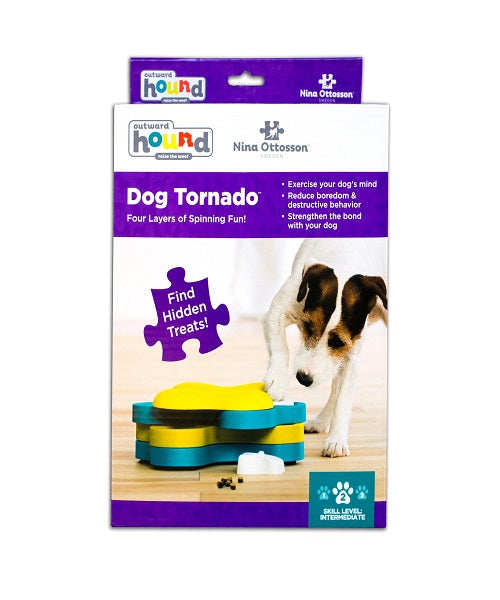 Nina Ottosson Dog Tornado Dog Toy - Pet Mall
