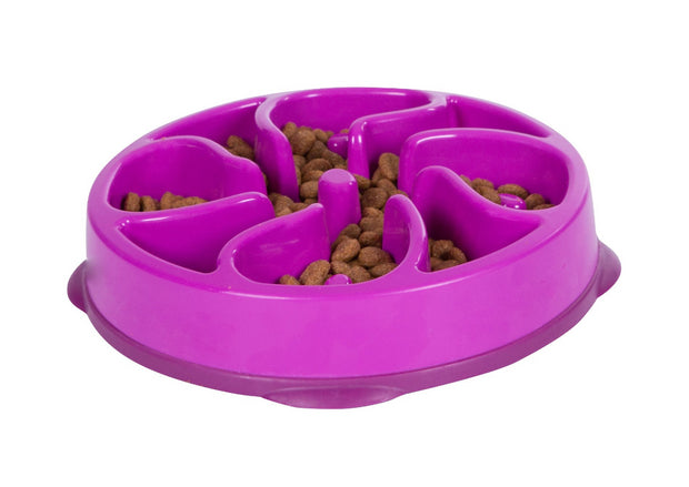 Outward Hound Fun Feeder Purple - Dogs - Pet Mall