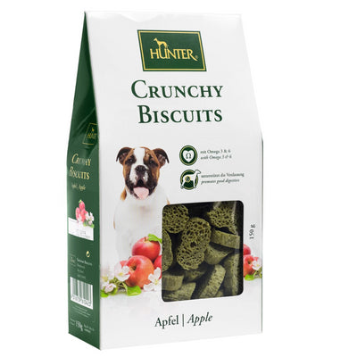 Hunter Crunchy Biscuits – Apple Dog Snack Treats for All sizes of Dogs - Pet Mall