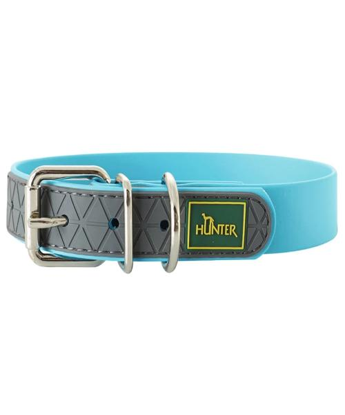 Hunter Convenience Adjustable Dog Collars – Turquoise - Pet Mall