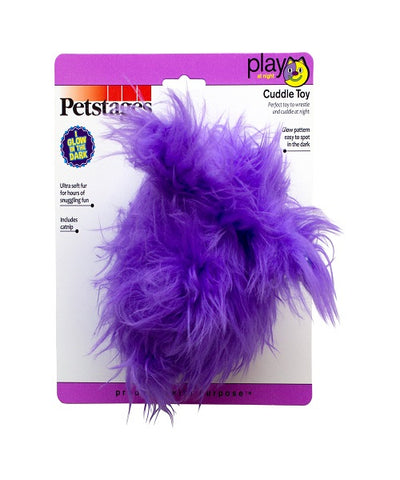 Petstages Fuzzy Bunny Night-time Cuddle Toy Cat Toy - Pet Mall